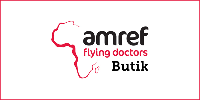 Webbshop för Amref Flying Doctors