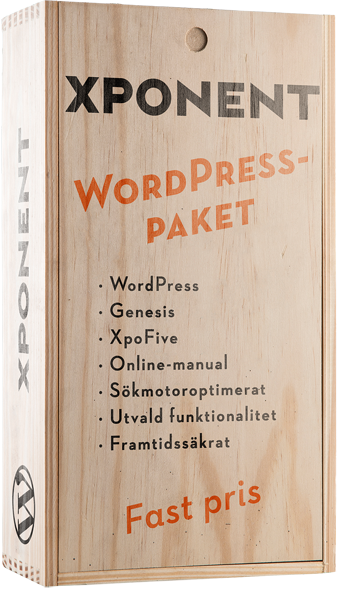 WordPress-paket