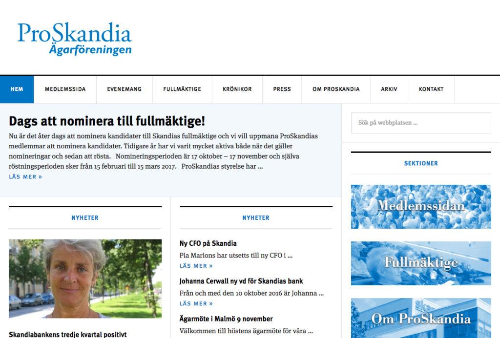 proskandia-webbplats