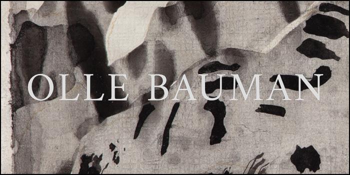Konstnären Olle Bauman